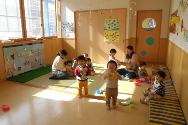 保育室・0歳児