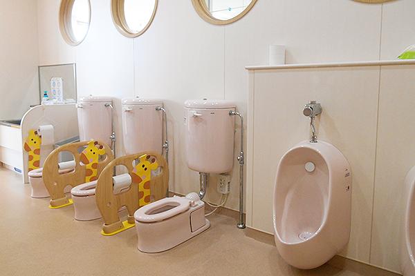 1・2歳児トイレ